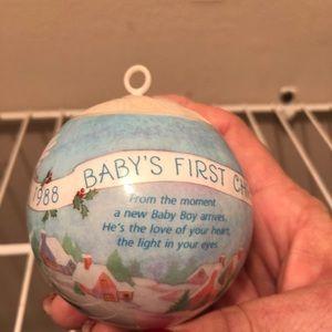 1979 Hallmark Baby's First Christmas-NO box.